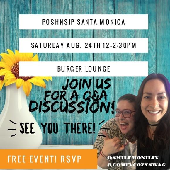 PoshNSip Other - PoshNSip August 24th Saturday Santa Monica
